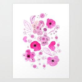 bloomy Art Print
