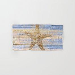 Starfish Beach Lake House Coastal Art A179 Hand & Bath Towel