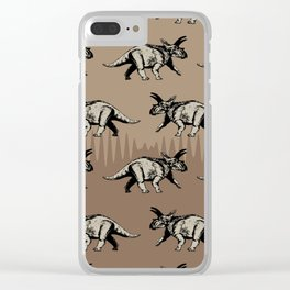 ChocoPaleo: Anchiceratops Clear iPhone Case