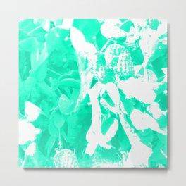 Psychedelic Cactus Metal Print