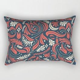 French Garden Rectangular Pillow