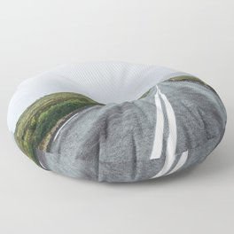 Into the Abyss Floor Pillow
