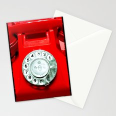OLD PHONE - RED EDITION - for iphone Stationery Cards