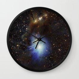 Young Star, Reflection Nebula IC 2631 Wall Clock