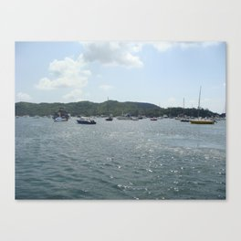 The Sea Canvas Print