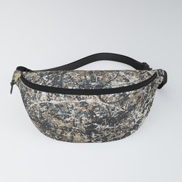 Jackson Pollock - One: No. 31, 1950 - Exhibition Poster Fanny Pack