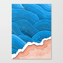 Seaside Beach Canvas Print