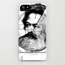 The Time of Marx iPhone Case