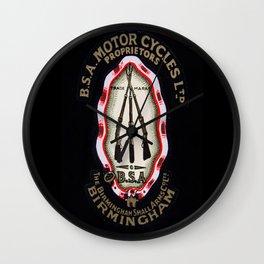 BSA Wall Clock