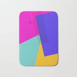 Colorblock - geometric minimal Bath Mat