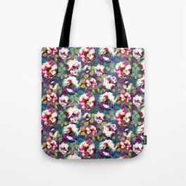 Paintsplat floral Tote Bag