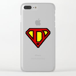 SuperDad 2 Clear iPhone Case