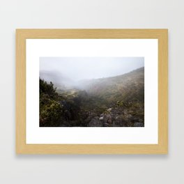 Haleakala Valley 2 Framed Art Print