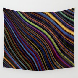 Wild Wavy Lines 14 Wall Tapestry