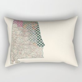 Alabama Rectangular Pillow