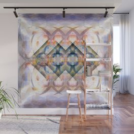 Multi-Colored Abstract Symmetry (Day) Wall Mural