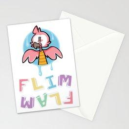Flim Flam Flamingo Cartoon Stationery Cards