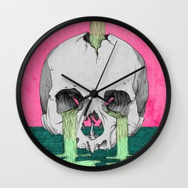 Reverie in Colour Wall Clock