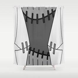 Franken Stein Lab Coat Shower Curtain