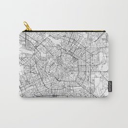 Milan Map Line Carry-All Pouch