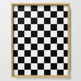 Checkerboard Serving Tray