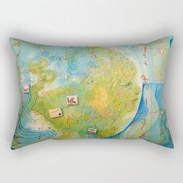 Worlds of Islandx Rectangular Pillow