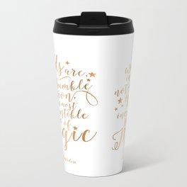 Dumbledore's Magic Words Metal Travel Mug