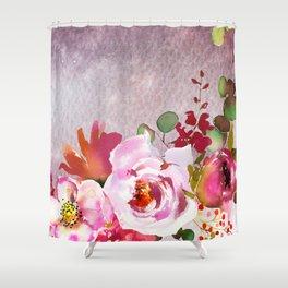 Flowers bouquet 92 Shower Curtain