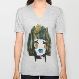Woman of Texture, Woman of Substance Unisex V-Neck