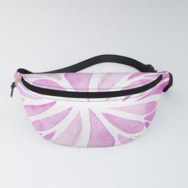Symmetric drops - pink Fanny Pack