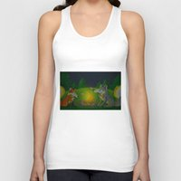 camp Tank Tops featuring Camp Aurooo by KristenOKeefeArt