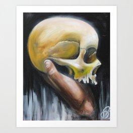 deaths deceit Art Print