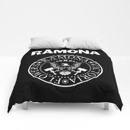 Ramona - Black Comforters