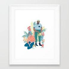 The Gardeners Framed Art Print