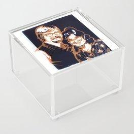 70's Folks Acrylic Box