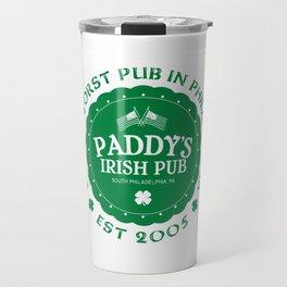 Paddy's Irish Pub Travel Mug