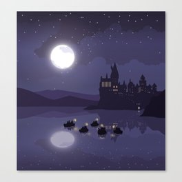 1st Year Arrivals Canvas Print
