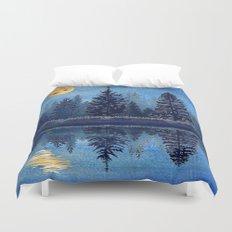 Denim Design Pine Barrens Reflection Duvet Cover