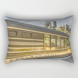 Pullman Observation Car Rectangular Pillow