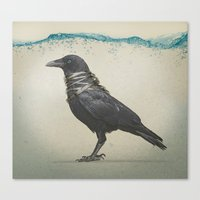 band Canvas Prints featuring Raven Band by Vin Zzep
