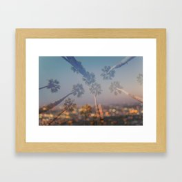 Postcard from L.A. Framed Art Print