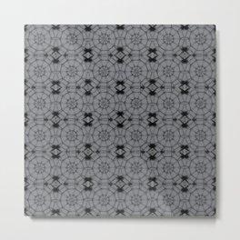 Sharkskin Pinwheels Metal Print