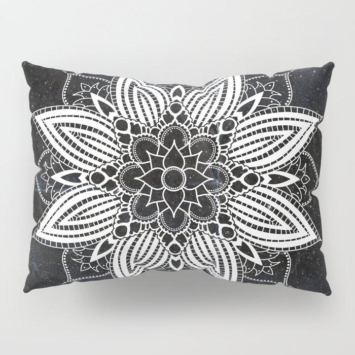 Flower Mandala in the Stars Pillow Sham