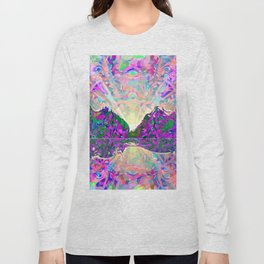 Northern Landscape Long Sleeve T-shirt