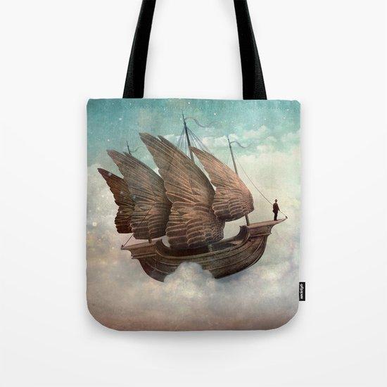 Flying Merchant Tote Bag