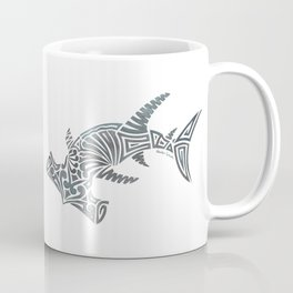 Tribal Hammerhead Shark Coffee Mug