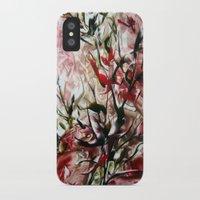 magnolia iPhone & iPod Cases featuring Magnolia by Stina ART de Luna