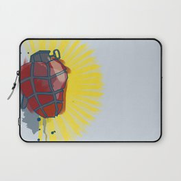 My Heart goes boom Laptop Sleeve