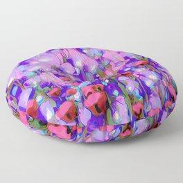 Spring Blush too, Mauve Moods Floor Pillow