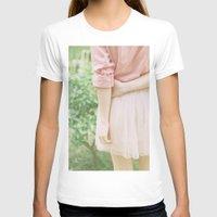 peach T-shirts featuring Peach by Mariam Sitchinava